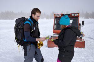 Sněžnice - lavinový vyhledávač