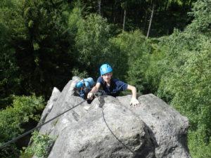 Alpinergrat vrchol